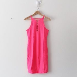 NWT Victoria's Secret Sport Strappy Ribbed Dress